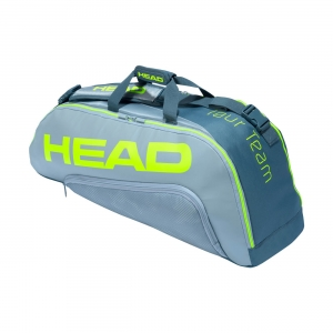 Tennis Bag Head Tour Team Extreme Combi 2020 x 6 Bag  Grey/Neon Yellow 283451 GRNY