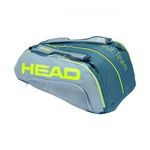 Tennis Bag Head Tour Team Extreme Monstercombi 2020 x 12 Bag  Grey/Neon Yellow 283431 GRNY