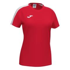 Joma Academy III T-Shirt Girl - Red/White