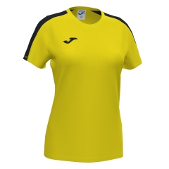 Joma Academy III T-Shirt Girls - Yellow/Black