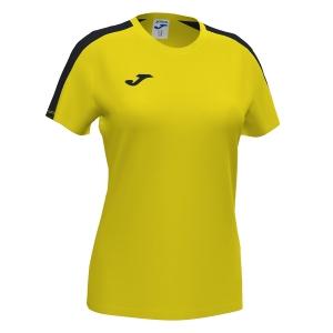 Top y Camisetas Niña Joma Academy III Camiseta Nina  Yellow/Black 901141.901