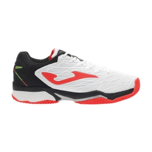 Men`s Tennis Shoes Joma Ace Pro 2002 Clay  White/Black T.ACPW2002