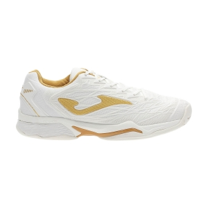 Scarpe Tennis Donna Joma Ace Pro Lady 2002 All Court  White/Gold T.APLW2002T