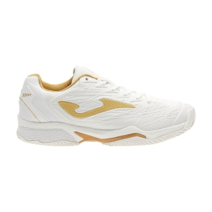 Scarpe Tennis Donna Joma Ace Pro Lady 2002 Clay  White/Gold T.APLW2002