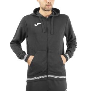 Men's Tennis Shirts and Hoodies Joma Campus III Classic Hoodie  Black 101590.100