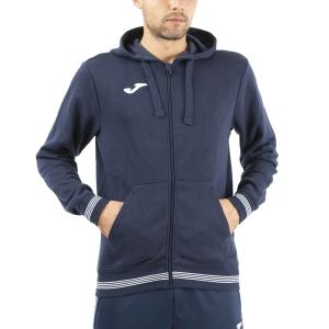 Men's Tennis Shirts and Hoodies Joma Campus III Classic Hoodie  Dark Navy 101590.331