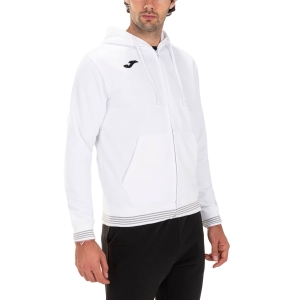 Men's Tennis Shirts and Hoodies Joma Campus III Classic Hoodie  White 101590.200