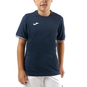Tennis Polo and Shirts Joma Campus III TShirt Boys  Dark Navy/White 101587.331