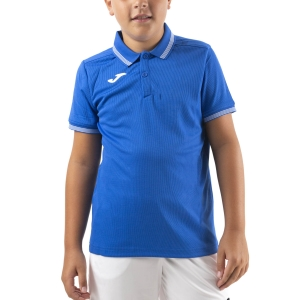 Tennis Polo and Shirts Joma Campus III Polo Boy  Royal/White 101588.700