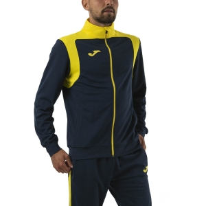 Men's Tennis Suit Joma Champion V Tracksuit  Dark Navy/Yellow 101267.339