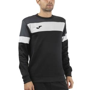 Men's Tennis Shirts and Hoodies Joma Crew IV Hoodie  Black/Anthracite 101575.110