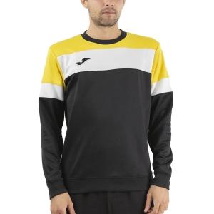 Camisetas y Sudaderas Hombre Joma Crew IV Sudadera  Black/Yellow/White 101575.109