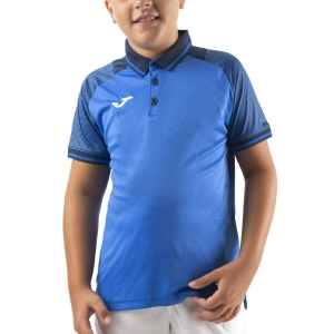 Tennis Polo and Shirts Joma Essential II Polo Boy  Royal/Dark Navy 101509.703