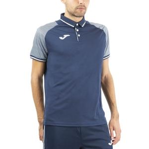 Men's Tennis Polo Joma Essential II Polo  Dark Navy/White 101509.332
