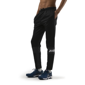 Pantaloni e Tights Tennis Uomo Joma Freedom Pantaloni  Black/Anthracite 101577.110