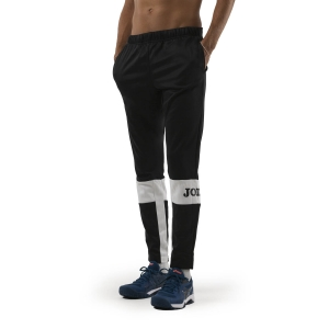 Pantaloni e Tights Tennis Uomo Joma Freedom Pantaloni  Black/White 101577.102