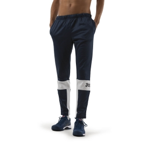 Pantaloni e Tights Tennis Uomo Joma Freedom Pantaloni  Dark Navy/White 101577.332