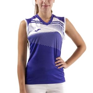 Women`s Tennis Tanks Joma Supernova II Tank  Purple/White 901126.552