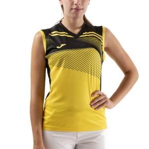 Canotte Tennis Donna Joma Supernova II Canotta  Yellow/Black 901126.901