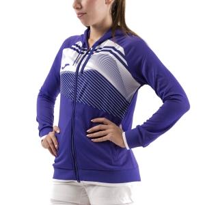 Women's Tennis Shirts and Hoodies Joma Supernova II Hoodie  Purple/White 901067.552