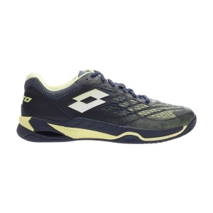 Scarpe Tennis Uomo Lotto Mirage 100 Clay  Navy Blue/Yellow Neon/All White 2107316VD