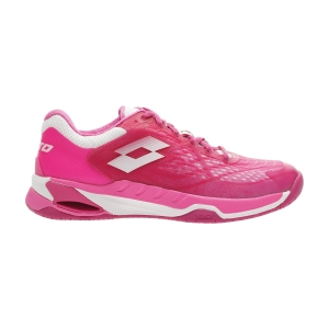 Women`s Tennis Shoes Lotto Mirage 100 Speed  Glamour Pink/All White/Vivid Fuchsia 2107396VK