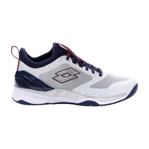 Calzado Tenis Hombre Lotto Mirage 200 Speed  All White/Navy Blue/Muave Wine 2136276VF