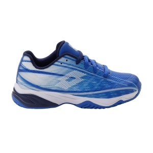 Junior Tennis Shoes Lotto Mirage 300 All Round Boy  Nebulas Blue/All White/Navy Blue 2107466VR