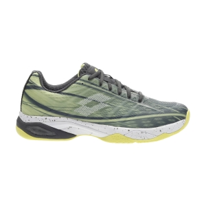 Calzado Tenis Hombre Lotto Mirage 300 Speed  Asphalt/All White/Yellow Neon 21073478Y
