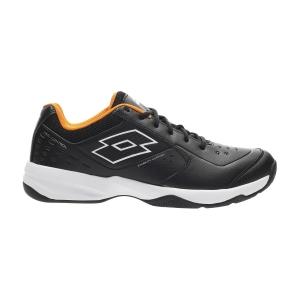 Men`s Tennis Shoes Lotto Space 600 II All Round  All Black/All White/Bright Merigold 2136306VV