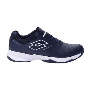 Men`s Tennis Shoes Lotto Space 600 II All Round  Navy Blue/All White 2136301E5