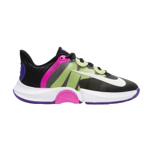 Scarpe Tennis Donna Nike Air Zoom GP Turbo HC  Black/White/Fierce Purple/Liquid Lime CK7580002