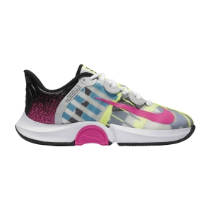 Calzado Tenis Mujer Nike Air Zoom GP Turbo HC  White/Laser Fuchsia/Sapphire/Hot Lime CK7580101