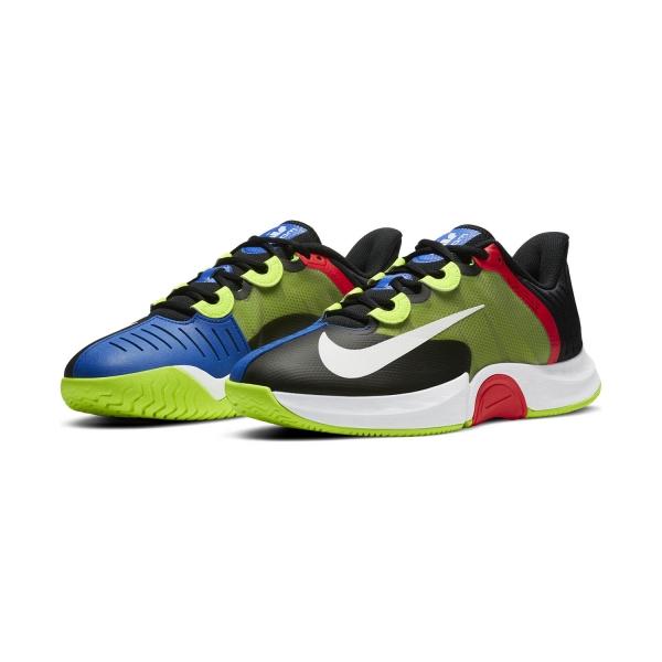 Nike Air Zoom GP Turbo HC - Black/White/Volt/Laser Crimson