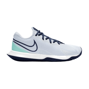 Calzado Tenis Mujer Nike Air Zoom Vapor Cage 4 HC  Football Grey/Midnight Navy CD0431010