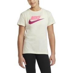 Nike Basic Futura Camiseta Niña - Coconut Milk