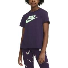 Nike Basic Futura Camiseta Niña - Grand Purple