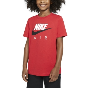 Polo y Camisetas de Tenis Nike Big Air Camiseta Nino  University Red CZ1828657