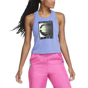 Top de Tenis Mujer Nike Challenge Court Top  Sapphire CW1536500