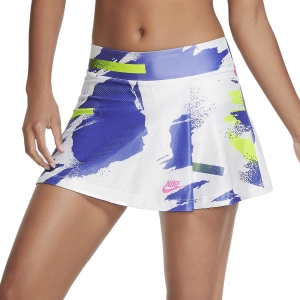 Skirts, Shorts & Skorts Nike Challenge Court Skirt  White/Sapphire/Hot Lime/Pink Foil CK8422100