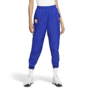 Men's Tennis Pants and Tights Nike Challenge Court Pants  Ultramarine/Hot Lime/White/Solar Red CQ9195411