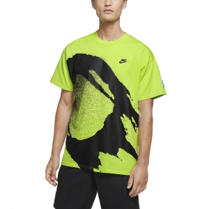 Men's Tennis Shirts Nike Challenge Fireball TShirt  Cyber CZ9602389