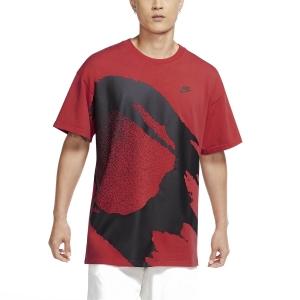 Men's Tennis Shirts Nike Challenge Fireball TShirt  Light Crimson CZ9602644