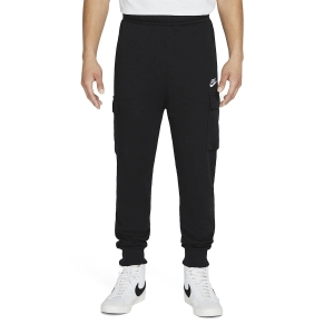 Pantaloni e Tights Tennis Uomo Nike Club Cargo Pantaloni  Black/White CZ9954010