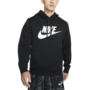Maglie e Felpe Tennis Uomo Nike Club Graphic Felpa  Black/White BV2973010