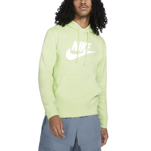 Men's Tennis Shirts and Hoodies Nike Club Graphic Hoodie  Light Liquid Lime BV2973383