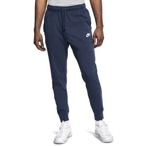 Men's Tennis Pants and Tights Nike Club Jersey Pants  Midnight Navy/White BV2762410