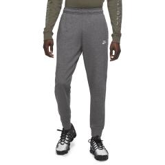Nike Club Logo Pantaloni - Charcoal Heather/Anthracite/White