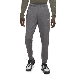 Pantalones y Tights Tenis Hombre Nike Club Logo Pantalones  Charcoal Heather/Anthracite/White BV2679071