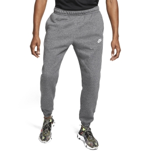 Pantaloni e Tights Tennis Uomo Nike Club Sportswear Pantaloni  Charcoal Heather/Anthracite/White BV2737071